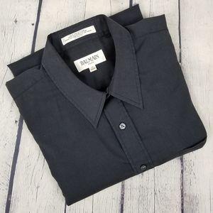 BALMAIN | single pocket button down dress shirt